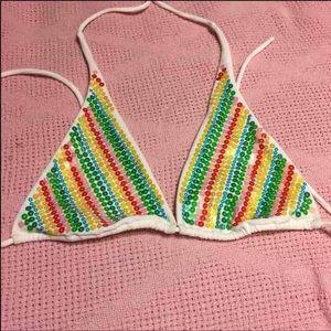 🔶5/$25🔶 Sequin Bikini Top